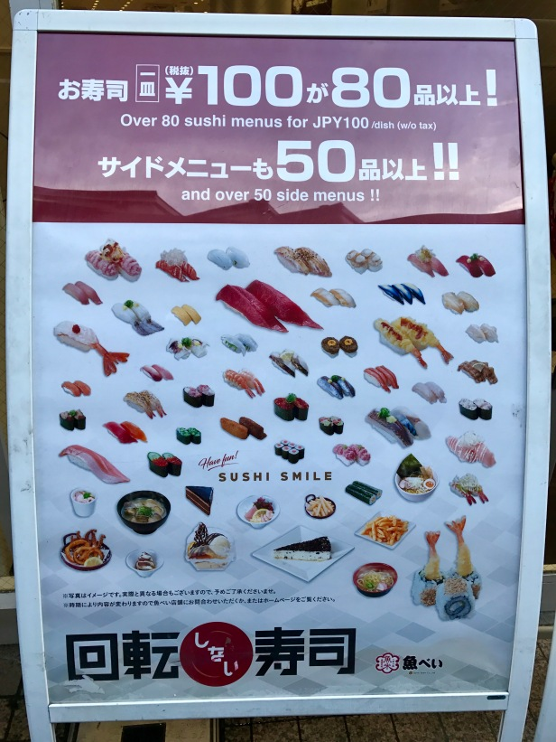 sushi no Japão
