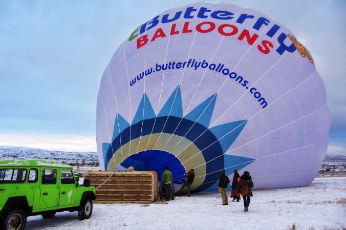 passeio de baloes na turquia